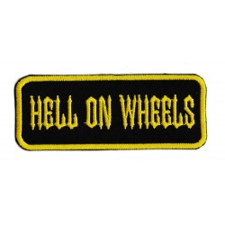 Patche écusson hell on wheels