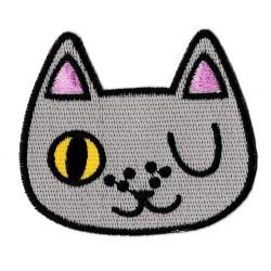 Toppa  termoadesiva gatto