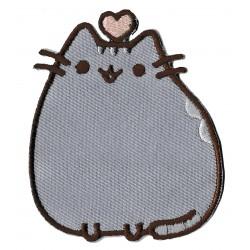 Aufnäher Patch Bügelbild Katze