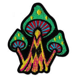 Iron-on Patch Mushrooms