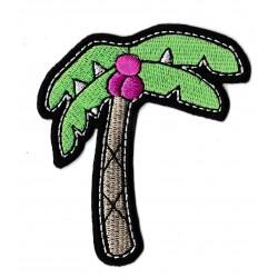Patche écusson palmier