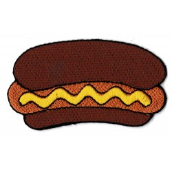 Patche écusson Hot dog