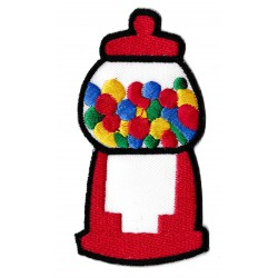 Iron-on Patch candy dispenser