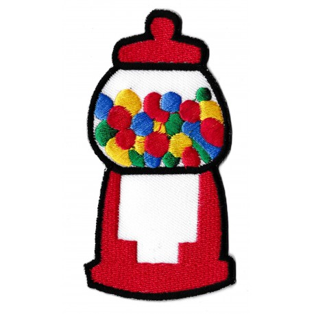 Aufnäher Patch Bügelbild Süßigkeiten