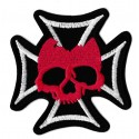 Iron-on Patch Maltese cross