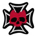 Patche écusson thermocollant Croix de Malte
