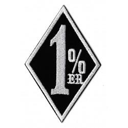 Aufnäher Patch Bügelbild 1%