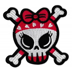 Iron-on Patch Lovely Skull