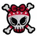 Iron-on Patch cute Skull