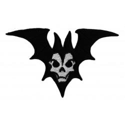 Patche écusson vampire halloween Chauve-Souris
