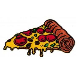 Patche écusson thermocollant pizza