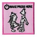 Toppa  termoadesiva wake press here