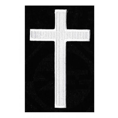 Patche écusson thermocollant croix chrétienne