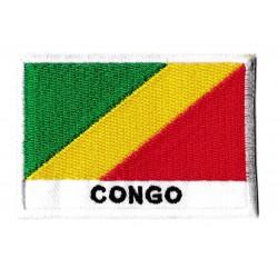 Patche drapeau Congo
