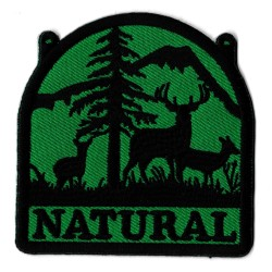 Iron-on Patch Natural
