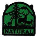 Parche termoadhesivo Natural