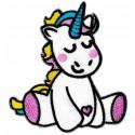 Parche termoadhesivo Unicornio