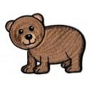 Aufnäher Patch Bügelbild Bärenjunges