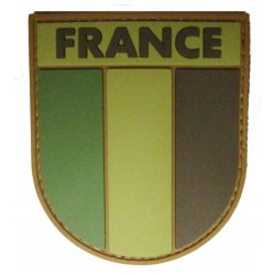 parche ejército francés baja visibilidad PVC