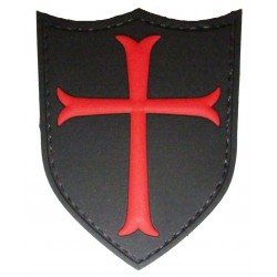 Templar shield PVC patch