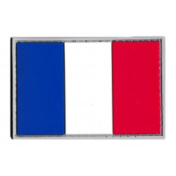 French flag PVC patch