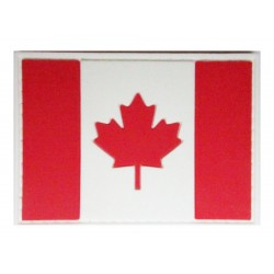Canadian Canada flag PVC patch