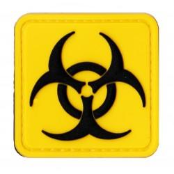 Patche PVC covid biohazard velcro