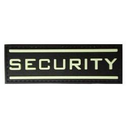 Patche PVC security phosphorescent