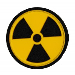 radioactivity PVC patch glow in the dark