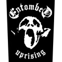 Entombed official printed backpatch