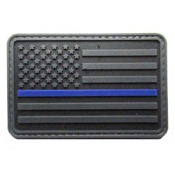 USA police PVC patch