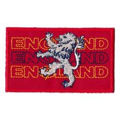 Patche écusson drapeau lion angleterre