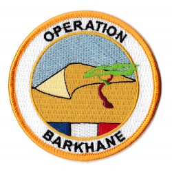 Iron-on Patch Operation Barkhane